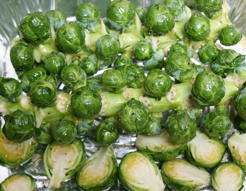 Pancetta Roasted Brussel Sprouts Recipe | Round Trip Kitchen